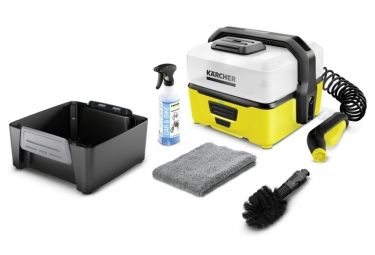 station de lavage karcher oc 3 4l kit velo