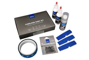 Kit de conversion tubeless schwalbe vtt et route largeur 23 mm