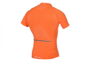 spiuk maillot manches courtes team orange l