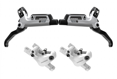 Sram DB5 pair of disc brake (without disc) Organic White