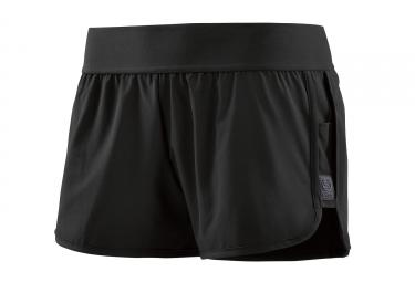 short femme skins activewear running swipe hi lo noir xs