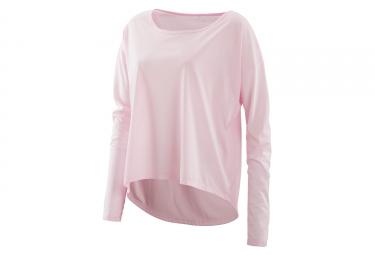 Pieles activewear pixel long sleeve fleece pink m