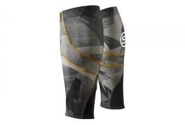 Manchons de compression skins essentials mx kaki noir m