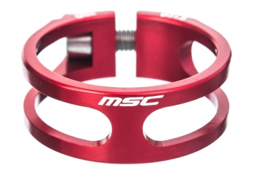 msc collier de selle ecrou light 8 5 gr cnc ti red 34 9