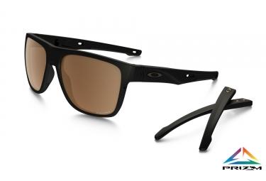 lunettes oakley crossrange xl noir prizm polarized ref oo9360 0658