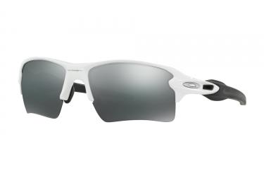 lunettes oakley flak 2 0 xl blanc noir iridium ref oo9188 54