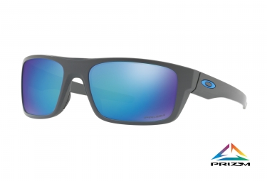 lunettes oakley drop point noir bleu prizm polarized ref oo9367 0660
