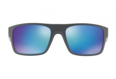 Lunettes Oakley Drop Point Noir - Bleu Prizm Polarized Ref: OO9367-0660