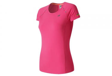 maillot femme new balance ice rose s
