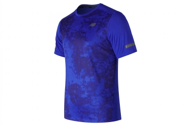 maillot new balance max intensity bleu m