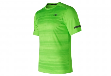 maillot new balance max intensity vert m