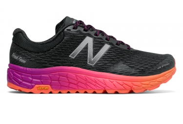 new balance fresh foam trail hierro v2 noir orange femme 39