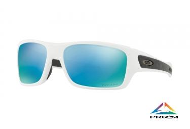lunettes enfant oakley turbine xs blanc prizm deep water polarized ref oj9003 0757