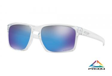 Lunettes oakley sliver clear prizm bleu ref oo9262 4757