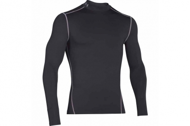Ua cg armour mock 1265648 001 homme sweat shirt noir xxl