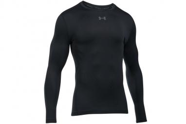 Ua cg armour jacquard crew 1301581 001 homme sweat shirt noir l
