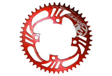 Elevn Flow 4 Bolts Ring Red