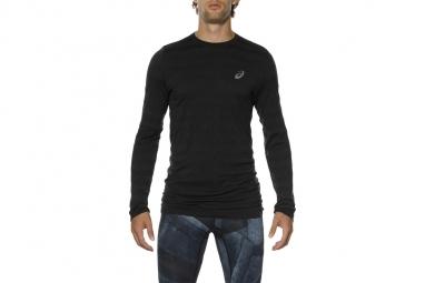 Asics seamless ls tee 130299 0904 homme t shirt gris xxl