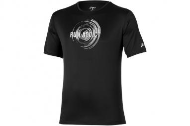 T shirt asics short sleeve tee 125141 0939 homme t shirt noir s