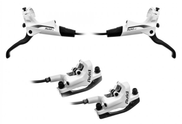 Avid DB3 pair of disc brake (without disc) Organic White