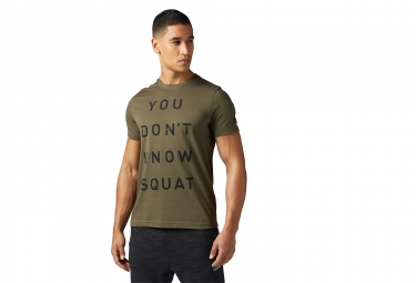 Reebok Crossfit Dont Know Squat Jersey Camo