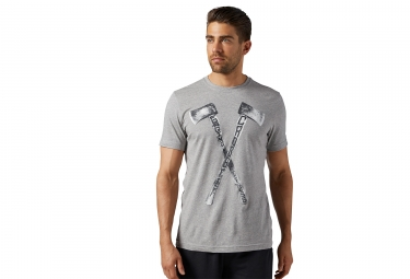Reebok Crossfit Ax Graphic Jersey gris