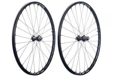 Paire de roues shimano xtr wh m9000 27 5 shimano sram centerlock noir