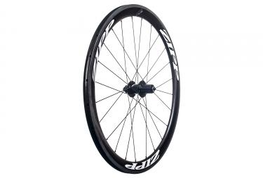 Roue arriere zipp 302 carbone a pneu sram shimano 11v 9x130 noir blanc