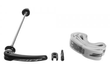 roue arriere zipp 302 carbone a pneu campagnolo 11v 9x130mm noir blanc