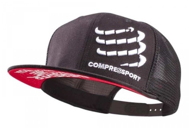 Casquette Compressport Trucker Cap Noir