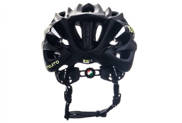 Casque Kask Mojito Limited Noir Mat Jaune Fluo