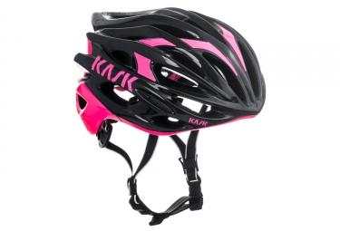 casque kask mojito noir rose l 59 62 cm