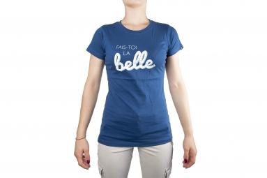 T-Shirt Femme LB Fais Toi La Belle Bleu