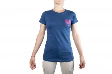 Maglietta LeBram Heart Unchained Blu