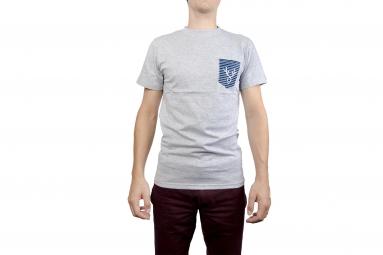 LeBram Deer Pocket T-Shirt Grey