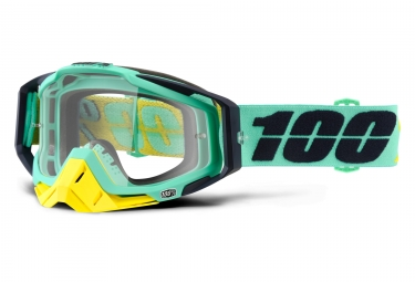 masque 100 racecraft kloog vert ecran transparent