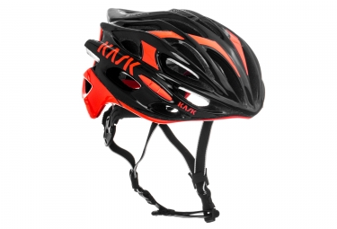 casque kask mojito noir orange m 52 58 cm