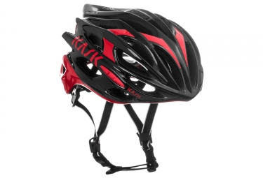 casque kask mojito black red xl 63 64cm