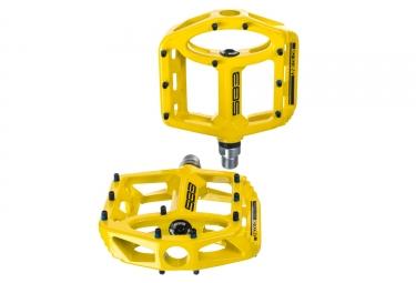 paire de pedales sb3 unicolor jaune
