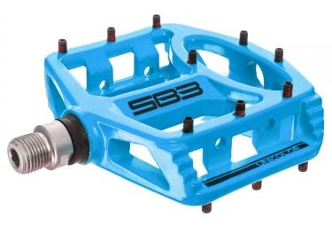 paire de pedales sb3 unicolor bleu