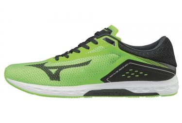 Chaussures de Running Mizuno Wave Sonic Vert / Noir