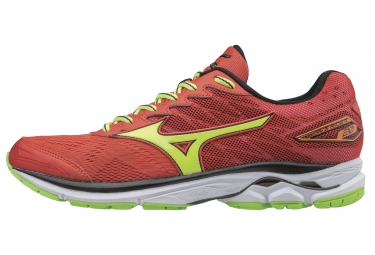 mizuno wave rider 20 orange jaune 41