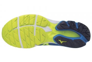 Chaussures de Running Mizuno Wave Rider 20 Bleu / Jaune