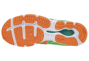 Chaussures de Running Mizuno Wave Hitogami 4 Vert / Orange