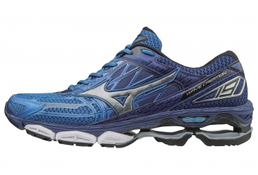 Mizuno wave creation 19 bleu argent 42