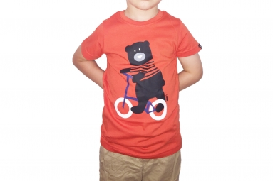 LeBram Teddy Youth T-Shirt Orange