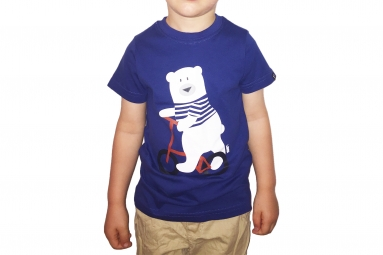 LeBram Teddy Youth T-Shirt Blue