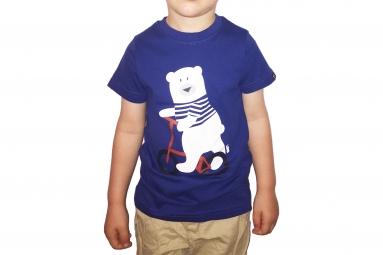 T-Shirt Enfant LB Teddy Bleu