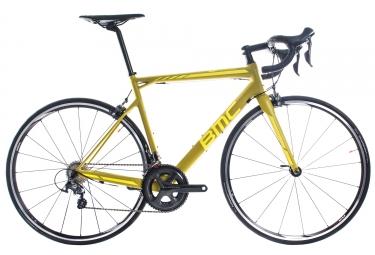 Velo de route bmc 2017 teammachine slr02 shimano ultegra 11v jaune 48 cm 160 169 cm