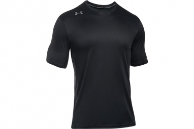 Ua challenger ii train tee 1290616 001 homme t shirt noir m